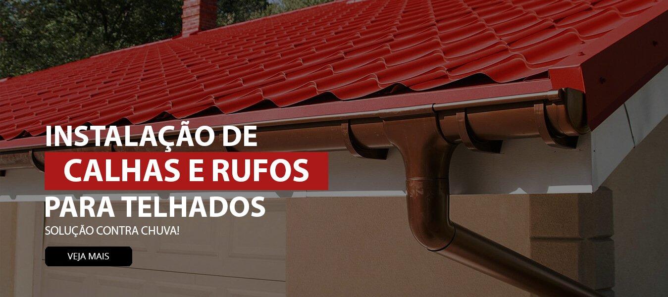 Calhas e Rufos em Curitiba