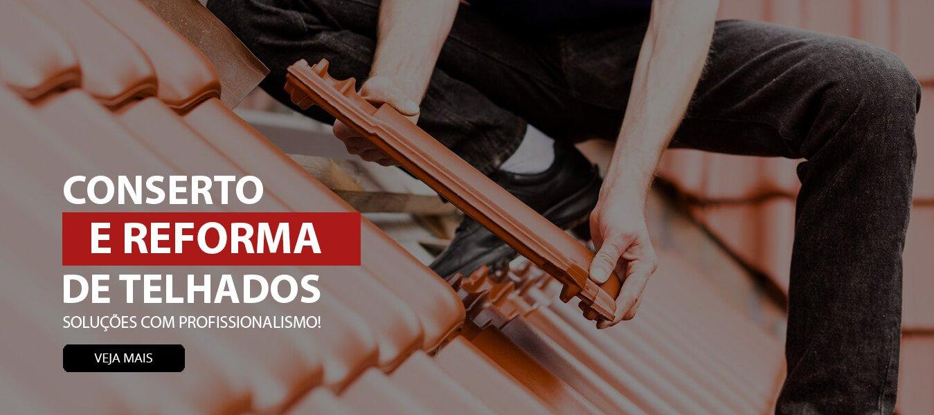 Conserto e Reformas de Telhados em Curitiba